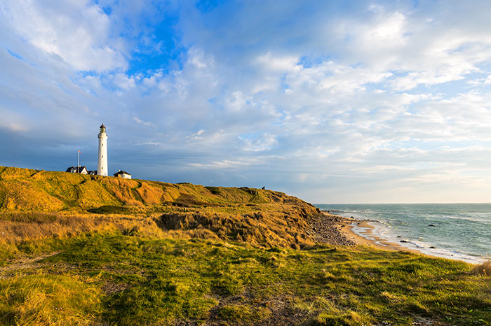 denmark-lighthouse-and-beach-side