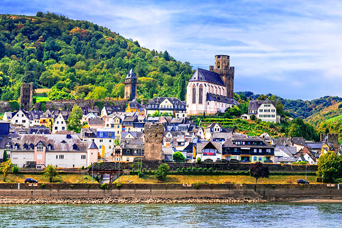 germany-rhine-valley-village