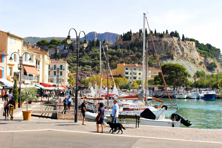 Harbour-side cafe's, Cassis