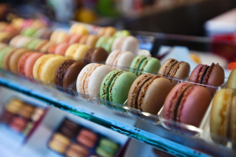Macarons à Paris, France