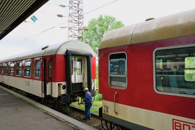 BDZ Train in Bulgaria