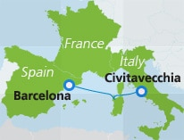 map-route-barcelona-civitavecchia
