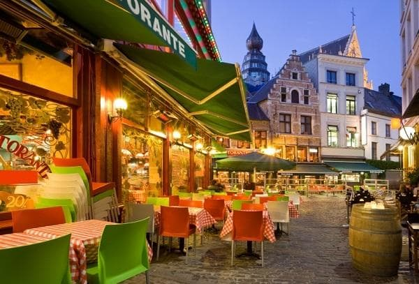 Restaurants in Antwerp, Belgium