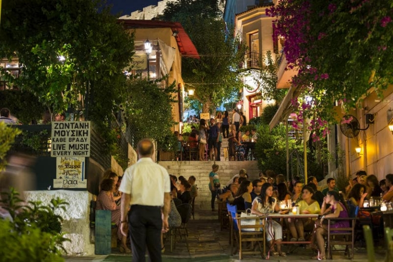 Restaurants in Athene