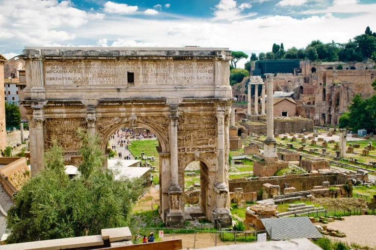 Arch of Septimius Severus | 24 hours in Rome