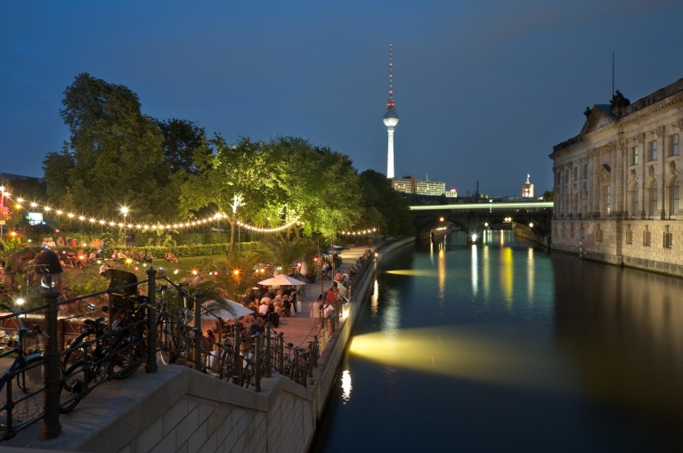 Strandbar in Berlin