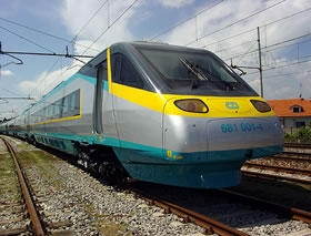 SuperCity high-speed train
