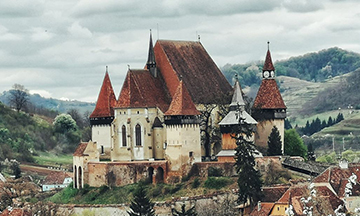 Transylvania, Romania close